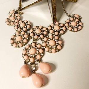 Pink Jewel Necklace